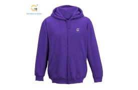 GS  Zip Hoodie with Logo