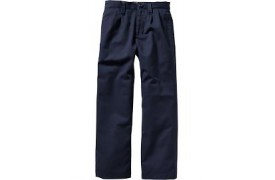 Boys' Chino Trousers with Fly Zip